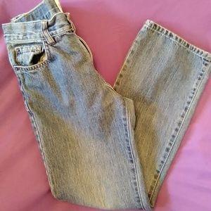 Youth boys size ⛹️ 12 reg. Bootcut jeans